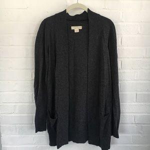 UO Charcoal Grey Cardigan Size L
